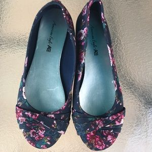 AE floral flats